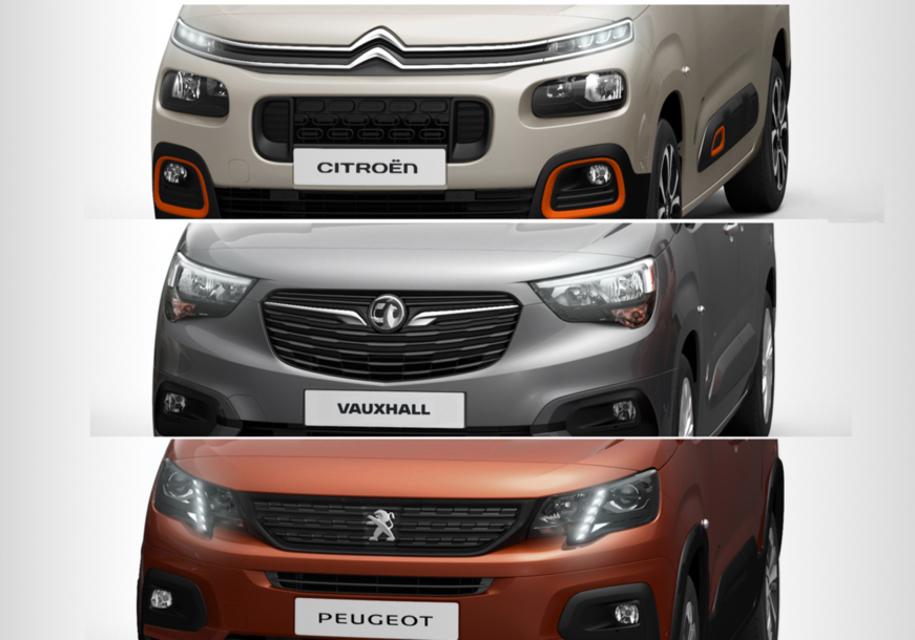 В PSA анонсированы новые коммерческие автомобили Peugeot, Citroen и Opel