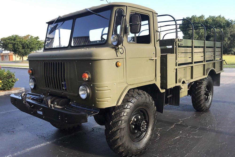 В США выставили на продажу отечественный грузовик ГАЗ-66 1983 года