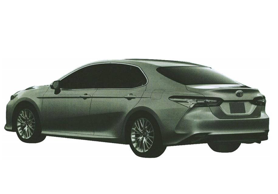 На патентных изображениях рассекречен бизнес-седан Toyota Camry для России