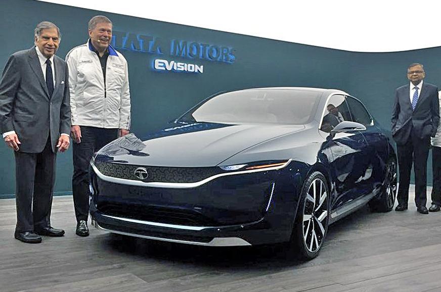 Компания Tata Motors в Женеве представила новый концепт седана EVision