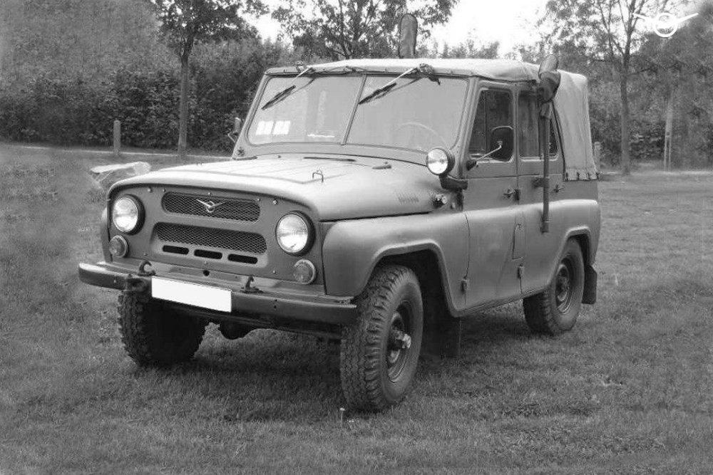 УАЗ вспомнил об уникальной военной модели «Белозор»