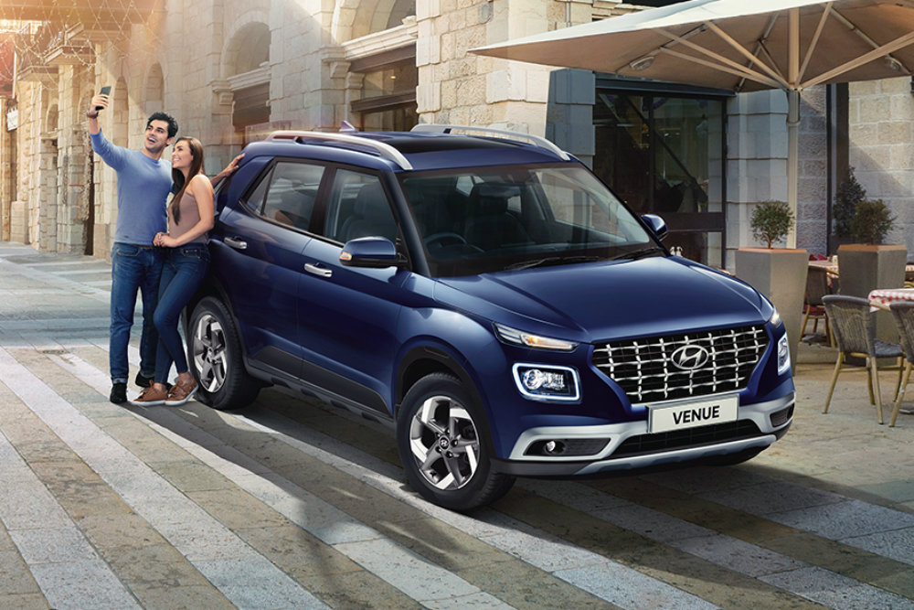 За новым кроссовером Hyundai Venue уже выстроилась очередь