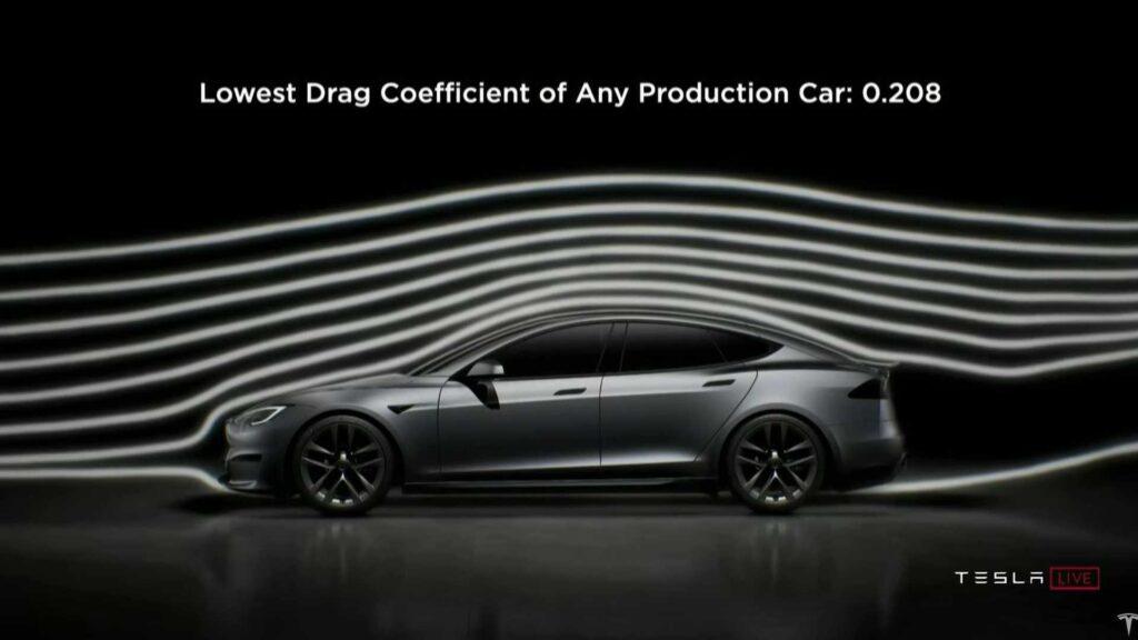 Представлен новый мощный электрический седан Model S Plaid от Tesla