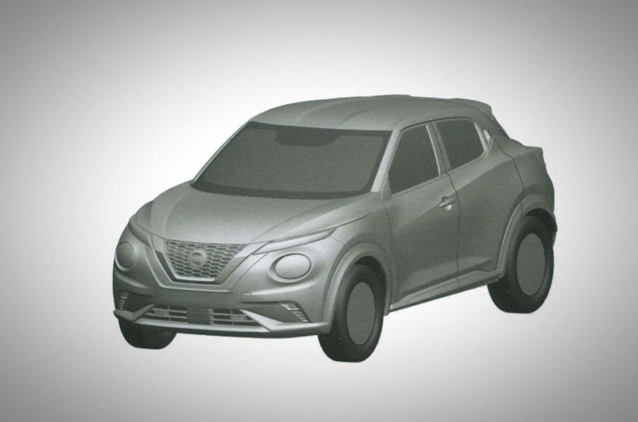 В России запатентовали новое поколение Nissan Juke