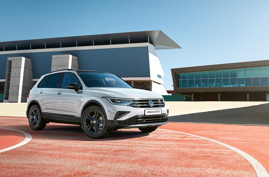 Кроссовер Volkswagen Tiguan получил в РФ новую спецверсию Tiguan Urban Sport