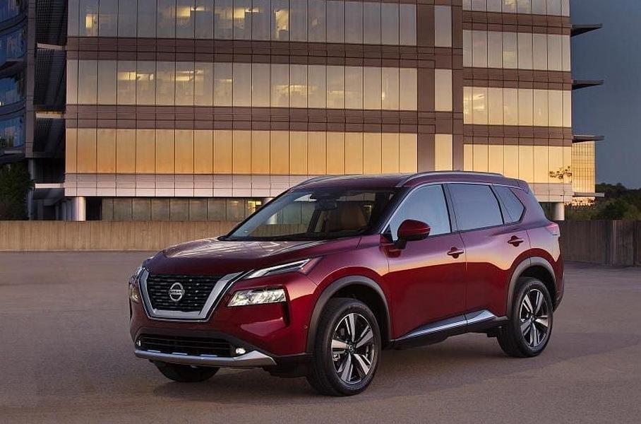 Nissan X-Trail продемонстрирован на официальном изображении