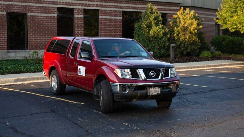 Пикап Nissan Navara с пробегом в 1,6 млн км вернули на завод
