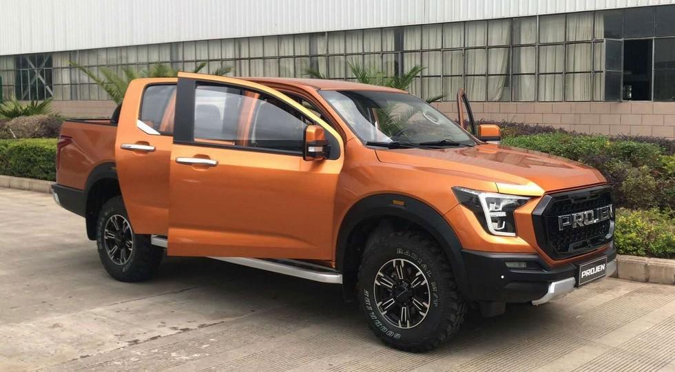 Lifan в начале 2018 года выпустит клона пикапу Ford F-150