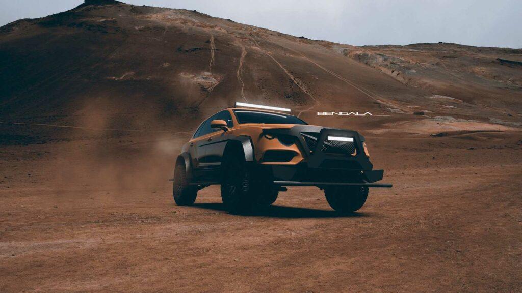 Обновлённый Bentley Bentayga превратили в премиальный танк