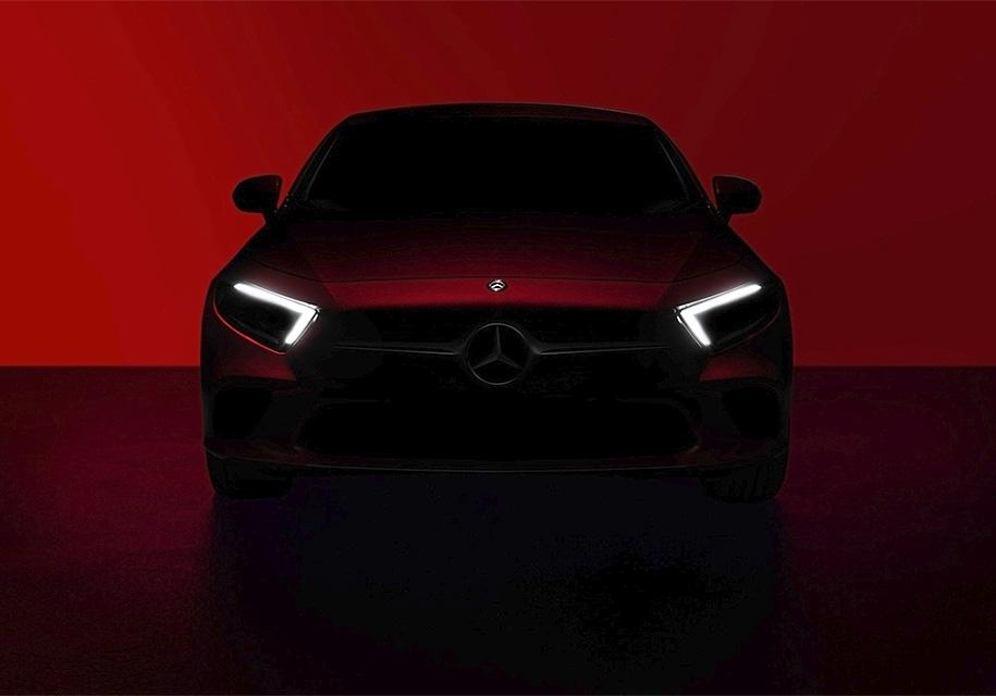 Новое купе Мерседес Бенс CLS презентуют вЛос-Анджелесе
