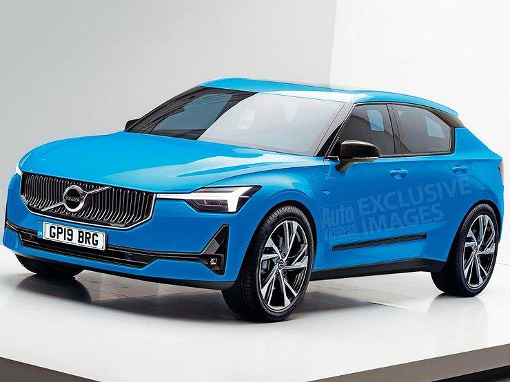 Названа дата премьеры нового поколения хэтчбека Volvo V40