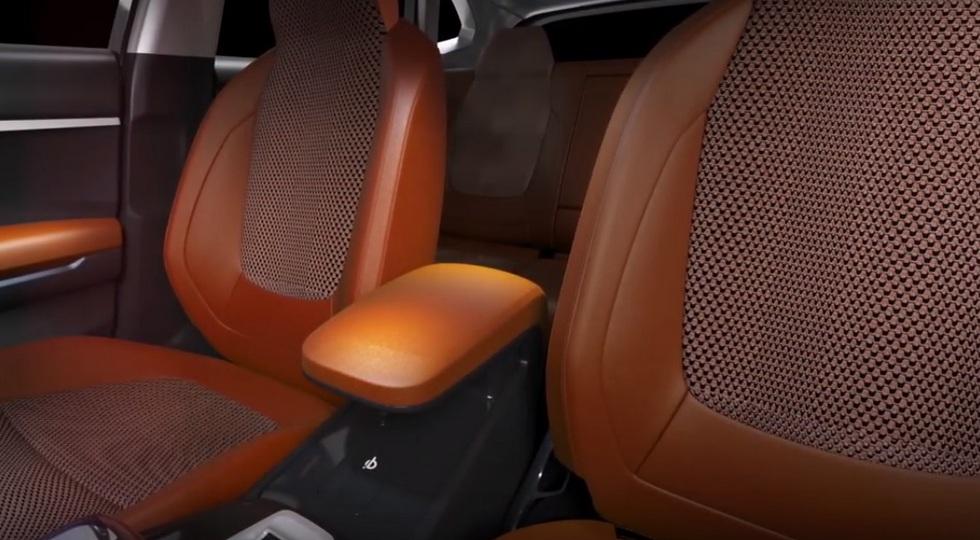Kia в Индии представила новый компактный кроссовер Kia SP
