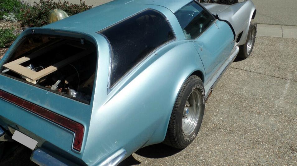 Уникальный Chevrolet Corvette выставили на продажу на eBay