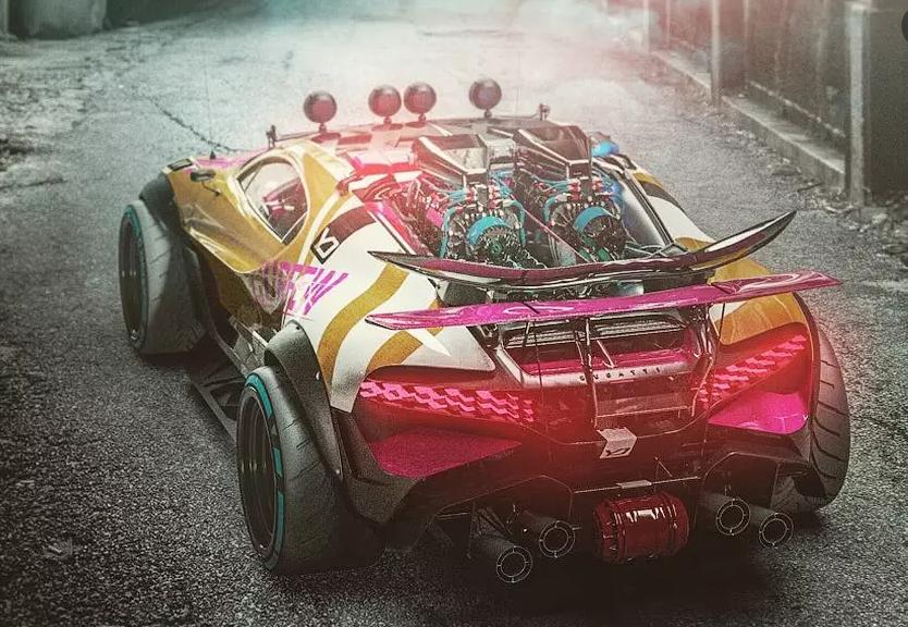 Уникальный внедорожный Bugatti Divo представлен на рендерах