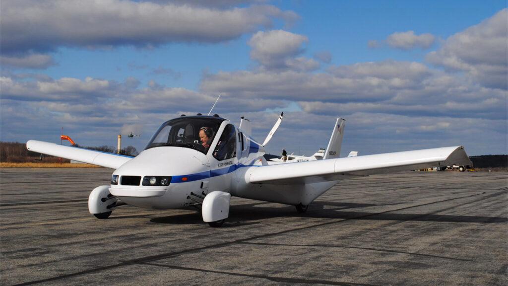 Летающий автомобиль Terrafugia появится в продаже в 2019 году