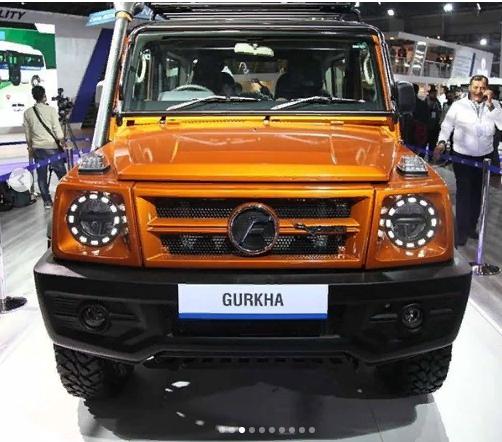 В Индии дебютировала новая версия аналога Mercedes-Benz G-Class