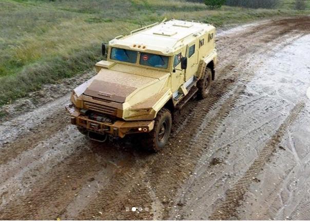 Раскрыты некоторые подробности о бронеавтомобиле «ВПК-Урал»