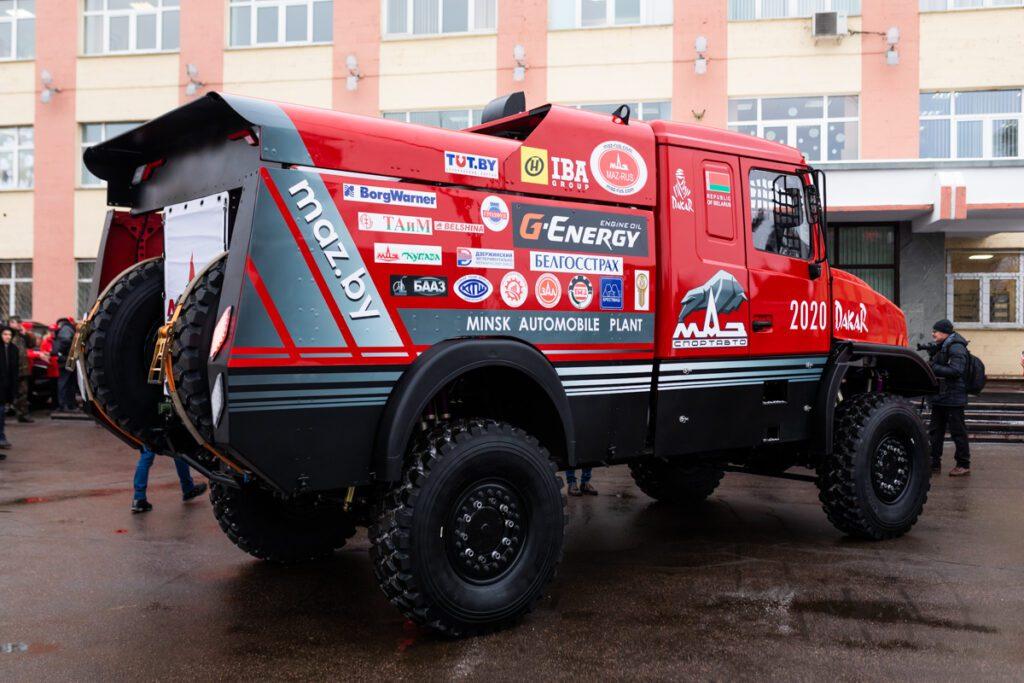 Официально представлен самый красивый грузовик МАЗ