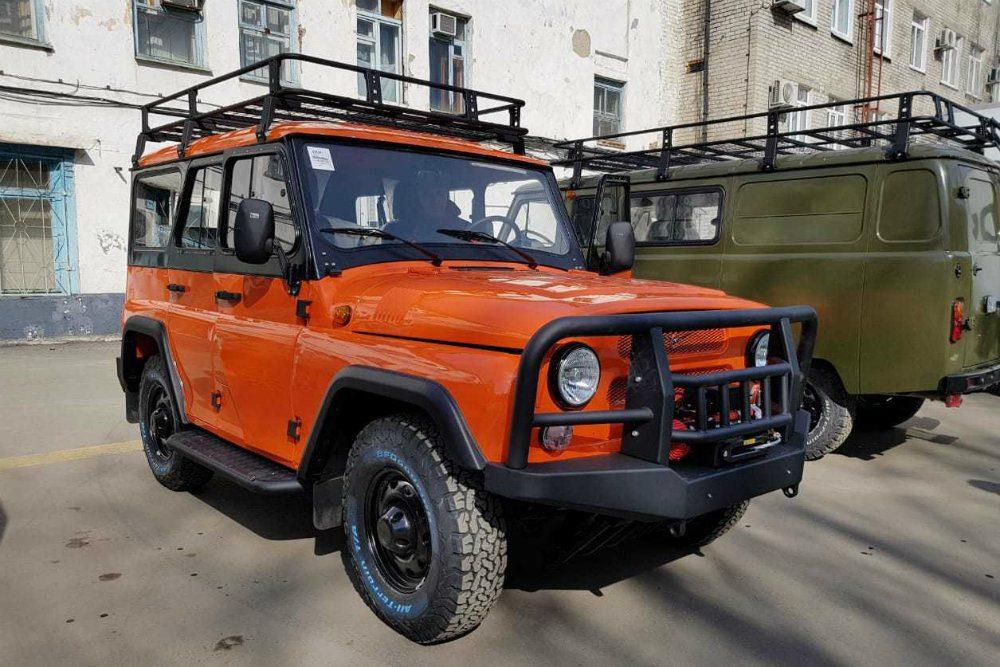 УАЗ готовит оранжевый УАЗ «Хантер» за 1 млн рублей