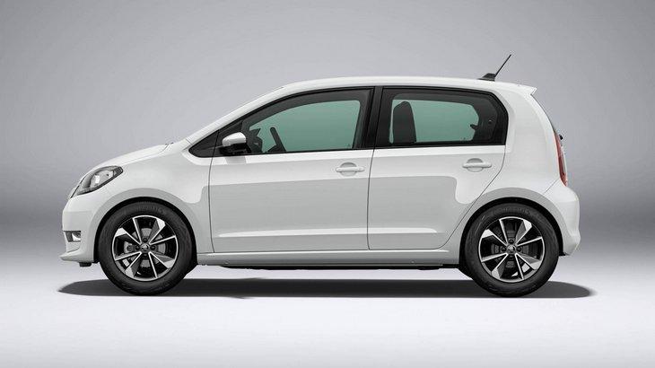 Skoda показала свой первый серийный электромобиль Citigo iV