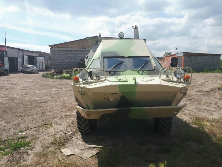 Челябинец продает на Авито боевую машину разведчиков за 750 тыс.руб