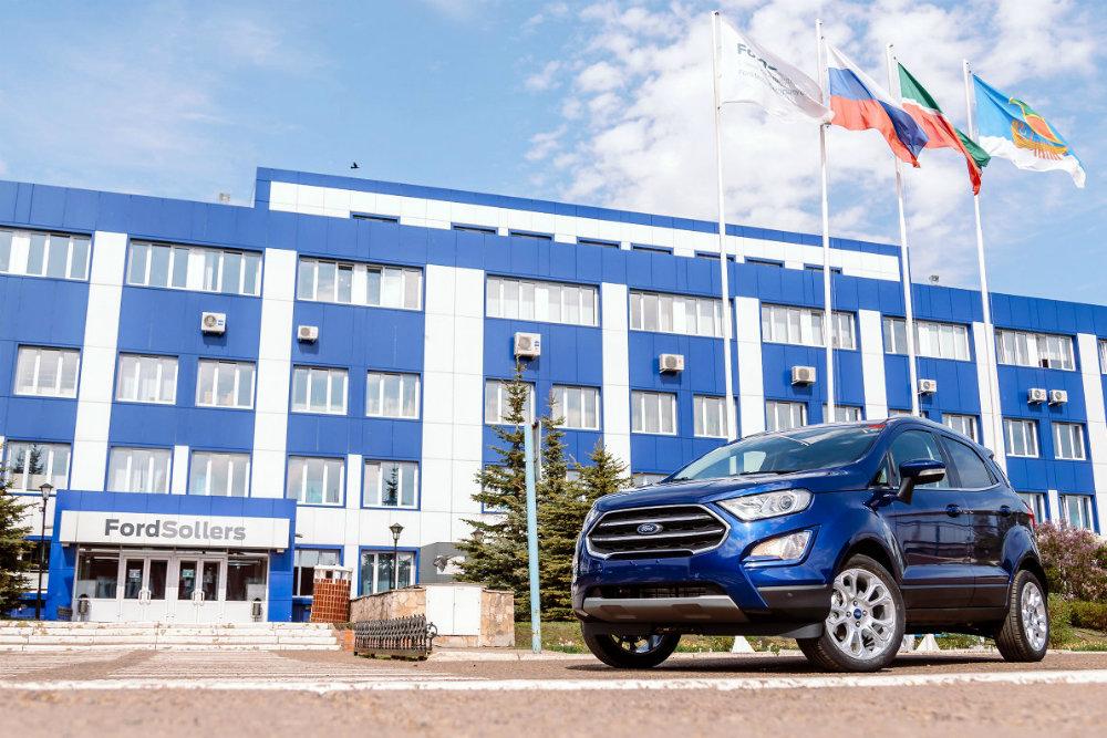 В РФ на 26 000 рублей подорожал обновленный Ford EcoSport