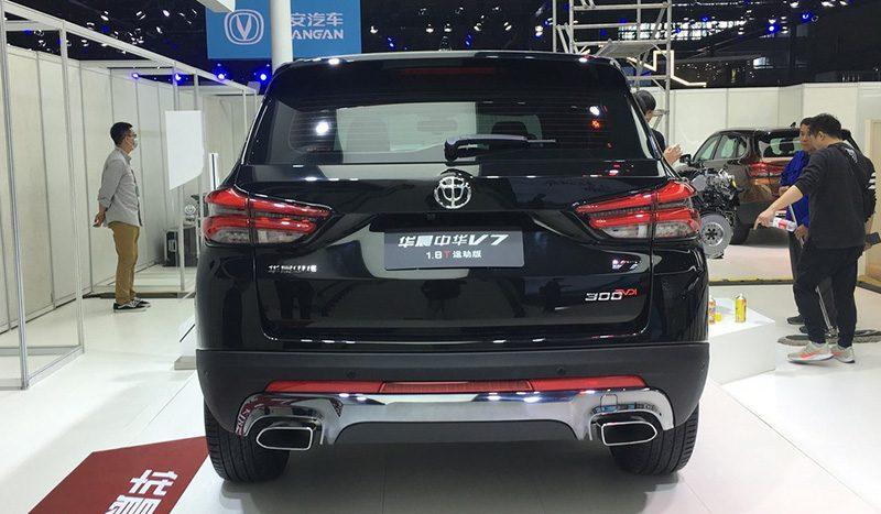 Brilliance анонсировал старт продаж кроссовера V7 с мотором от BMW
