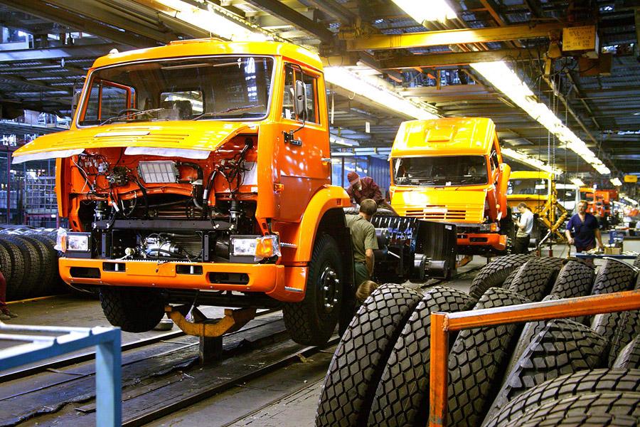 КамАЗ за девять месяцев 2017 года нарастил производство на 15%