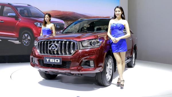 В КНР стартовали продажи обновлённого пикапа SAIC Maxus T60
