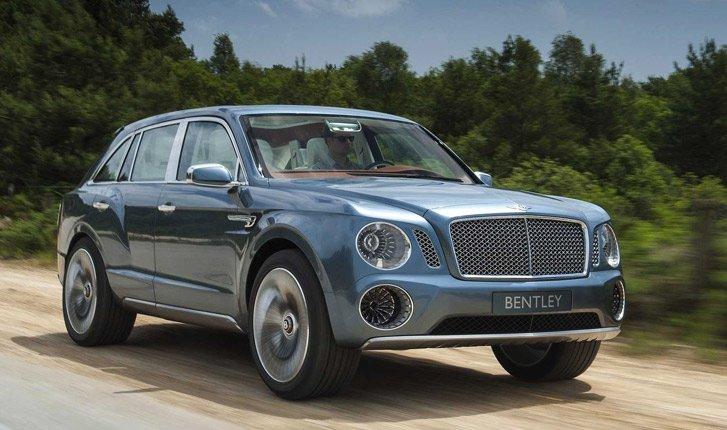 Продажи автомобилей Bentley в России в 2017 году упали на четверть