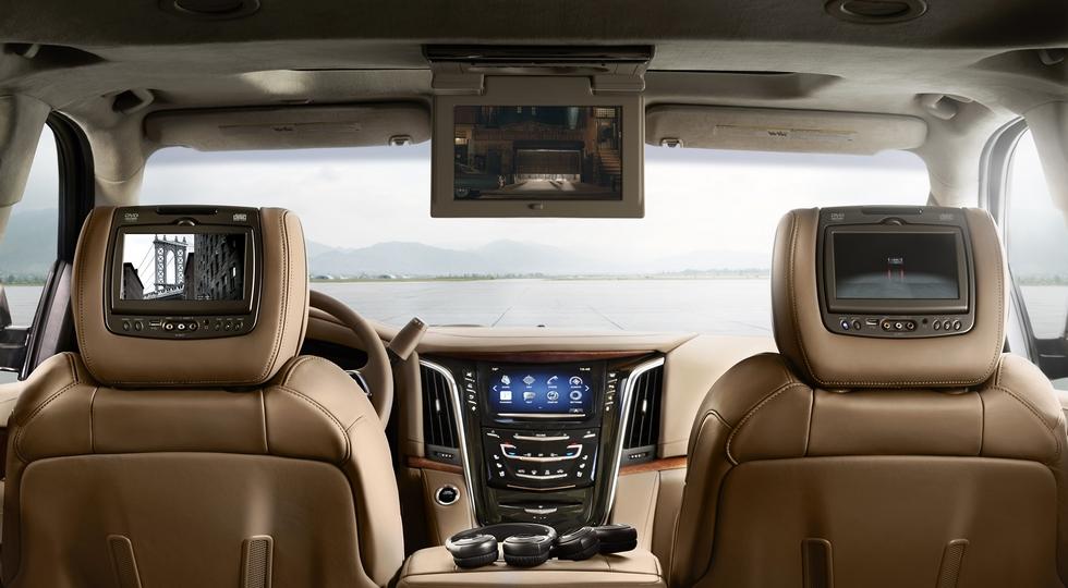 Cadillac привезла в Россию обновленный внедорожник Escalade
