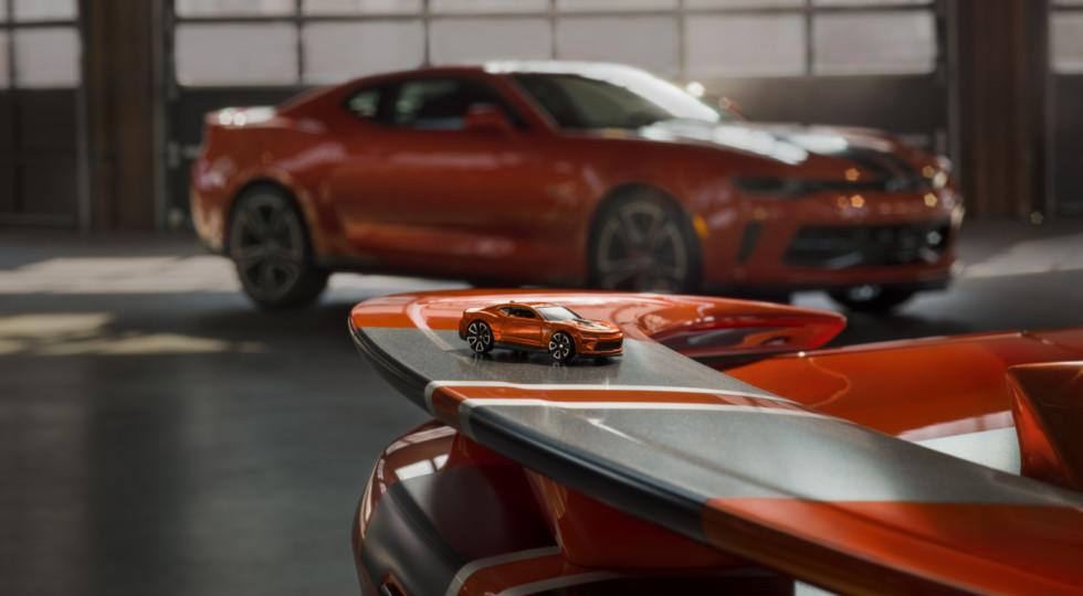 На SEMA представят новые Chevrolet Camaro Hot Wheels