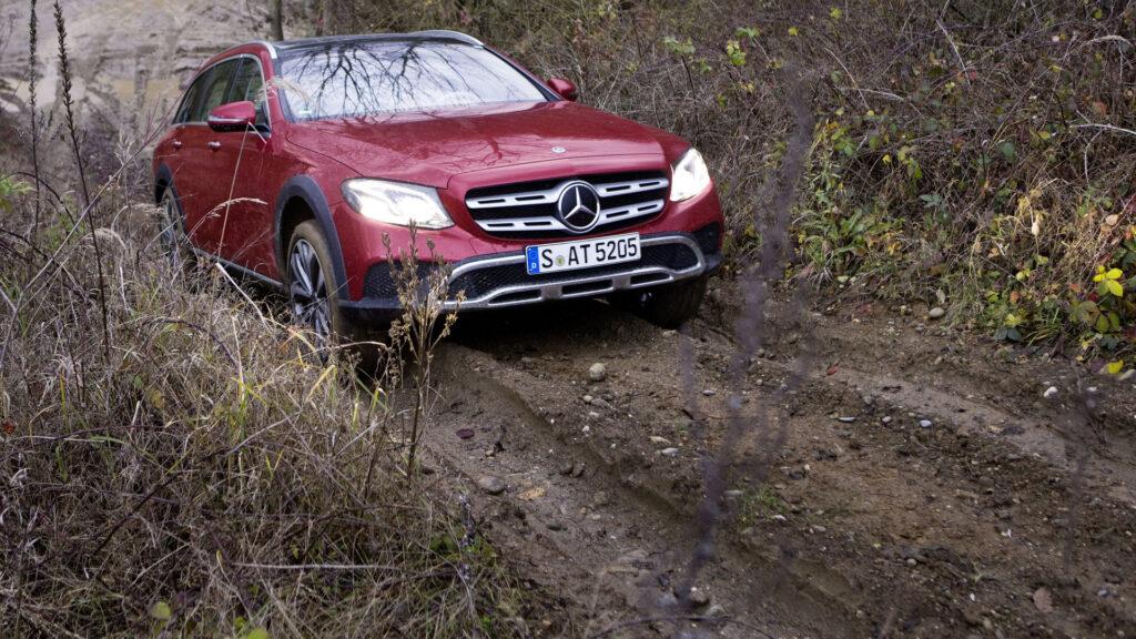 Более мощный Mercedes E-Class All-Terrain будет представлен во Франкфурте