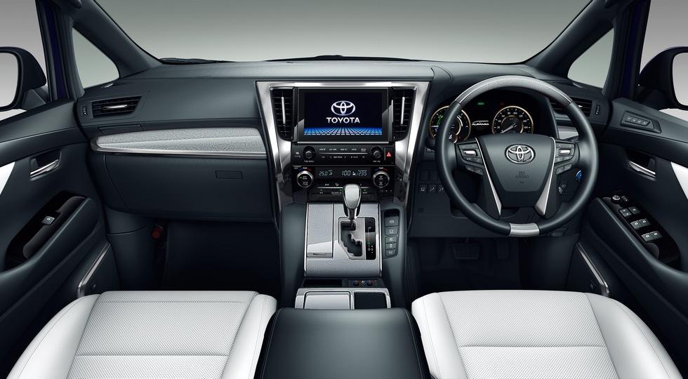 Обновлённый минивэн Toyota Alphard представлен официально