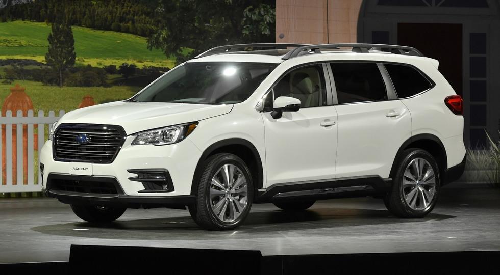 Большой кроссовер Subaru Ascent может приехать на рынок РФ