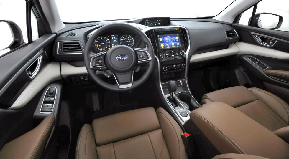 Subaru провела презентацию нового внедорожника Ascent