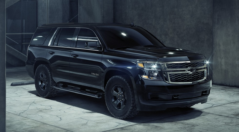 Chevrolet Tahoe Custom получил «полуночную» версию Midnight Edition