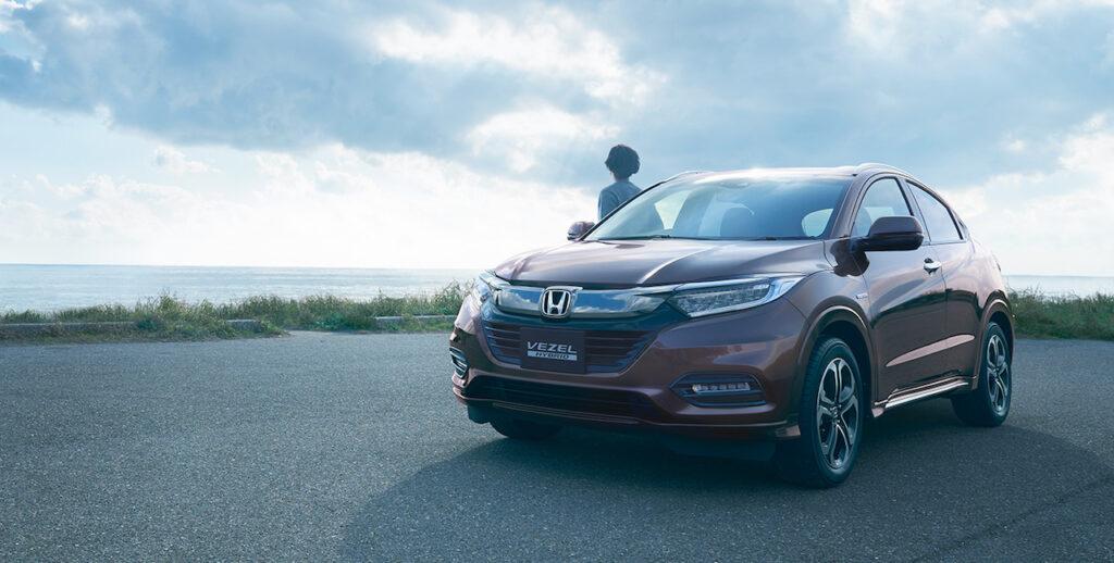 Honda обновила кроссовер Honda Vezel первым в глобальном семействе