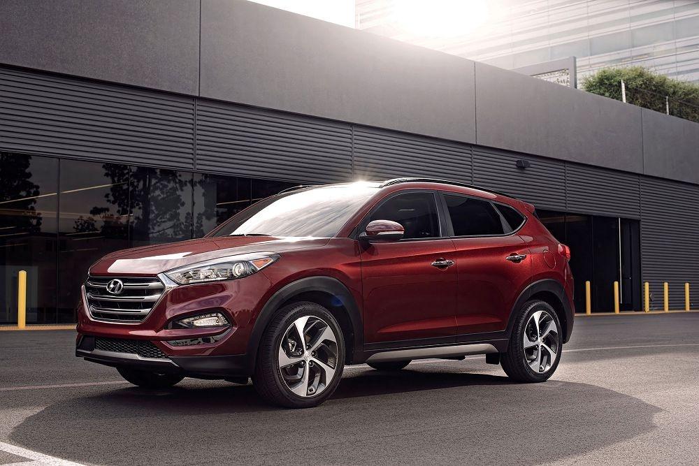 Обновленный кроссовер Hyundai Tucson представят в конце марта в Нью-Йорке