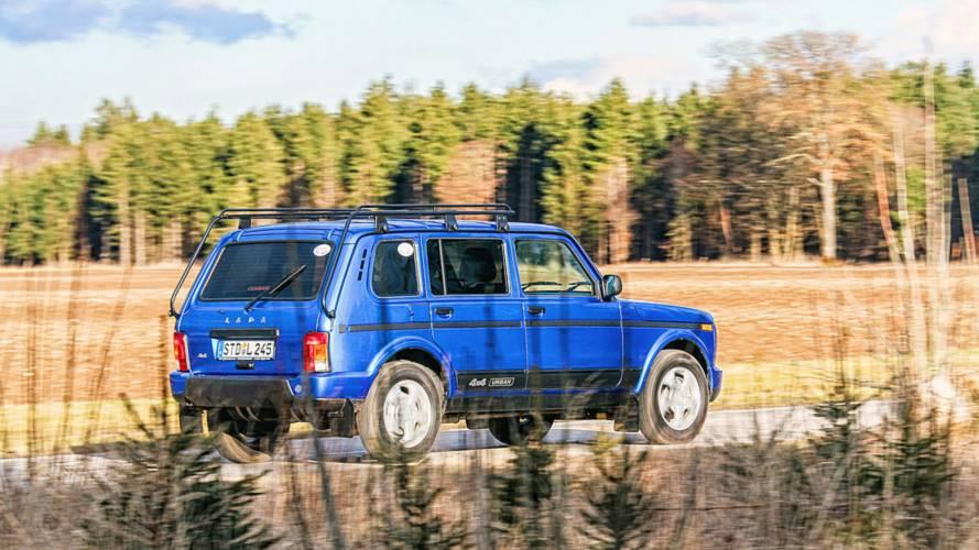 В Германии провели тест-драйв модели LADA 4х4 в исполнении Urban