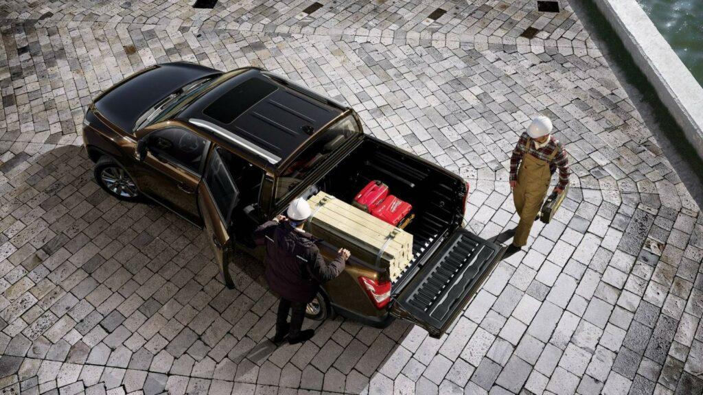 Новый пикап SsangYong Musso представлен на автосалоне в Женеве