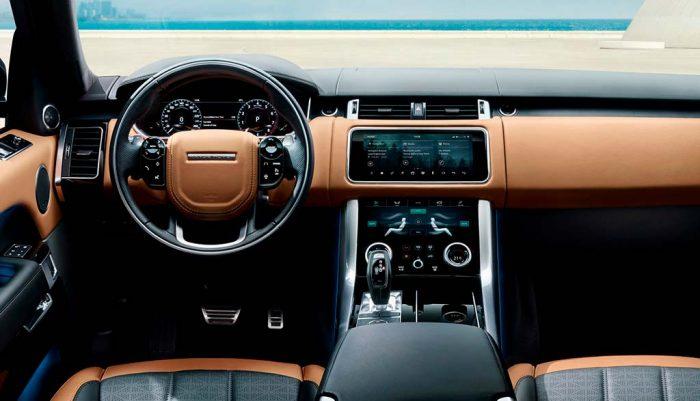 Обзор нового Range Rover Sport