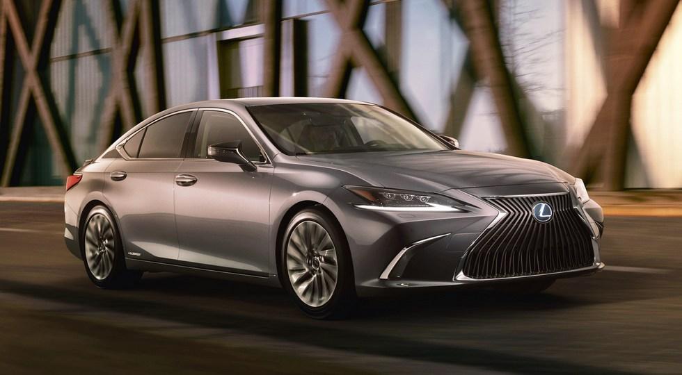 Lexus официально рассекретила новое поколение седана Lexus ES