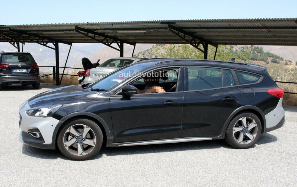 Универсал Ford Focus Active Wagon сфотографировали без камуфляжа