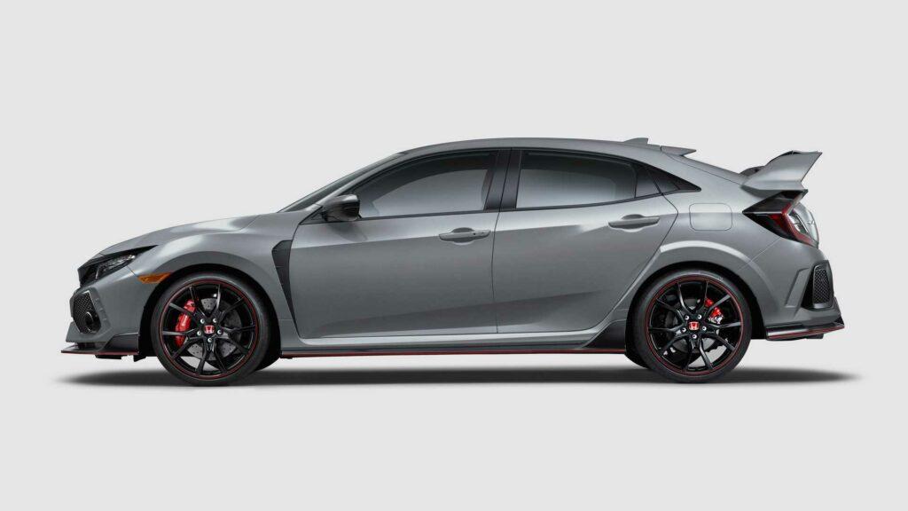 Honda слегка обновила хот-хэтч Honda Civic Type R 2019