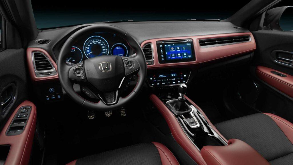 Представлен спортивный кроссовер Honda HR-V с турбомотором