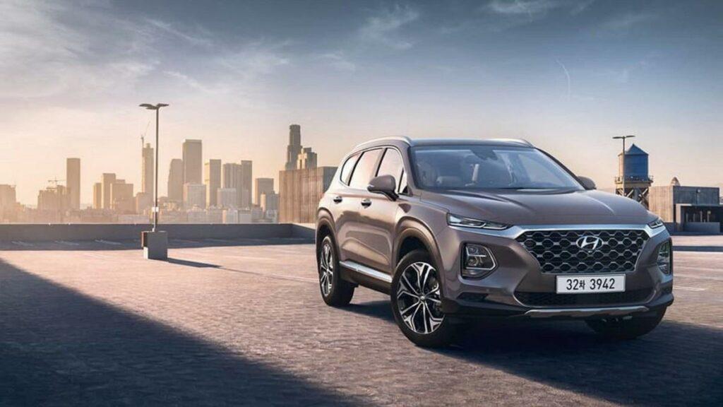 Еще не представленный Hyundai Santa Fe 2019 вызвал ажиотажный спрос