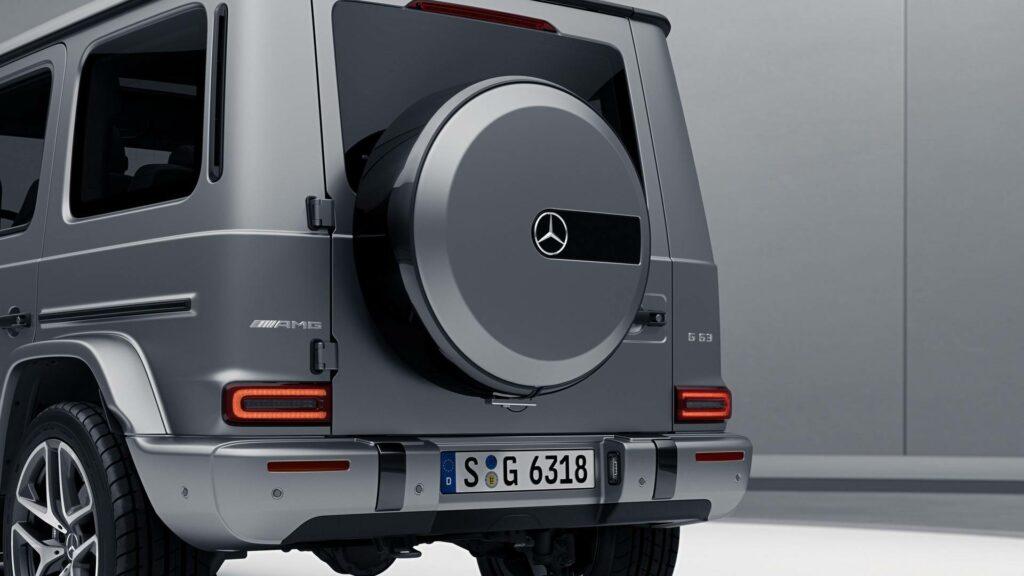 «Ночной» пакет улучшений получил «заряженный» Mercedes-AMG G63