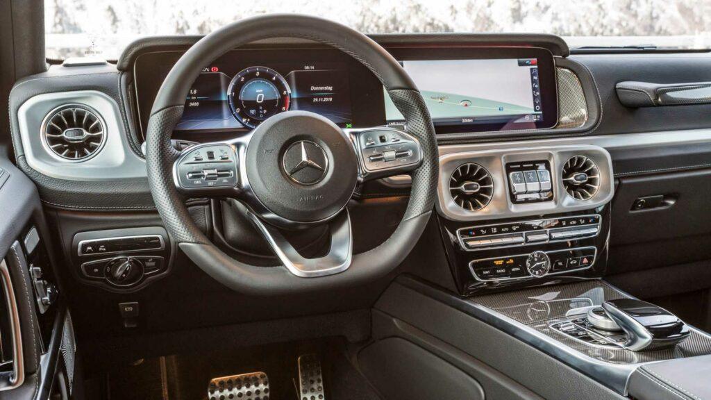 Mercedes представил самую доступную версию внедорожника G-класса