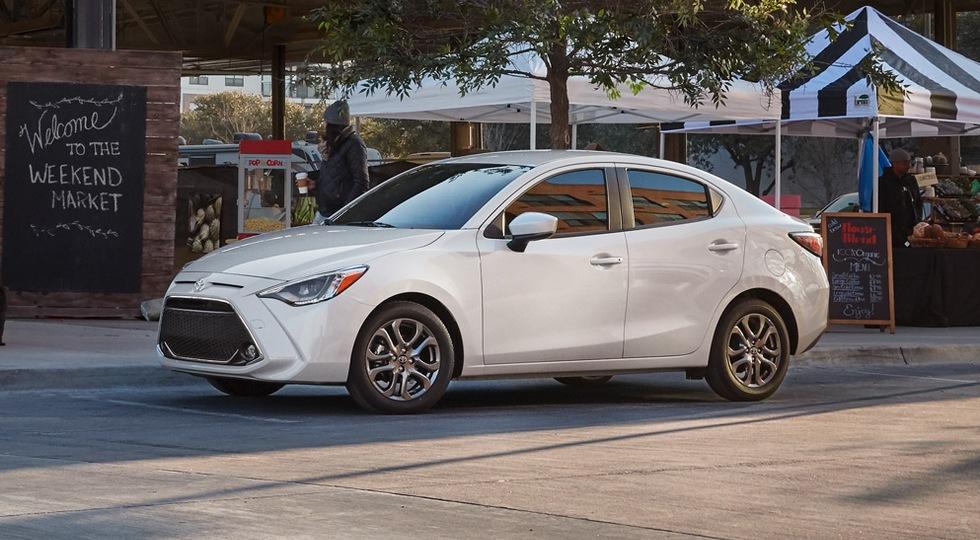 Toyota представила седан Toyota Yaris 2019 модельного года